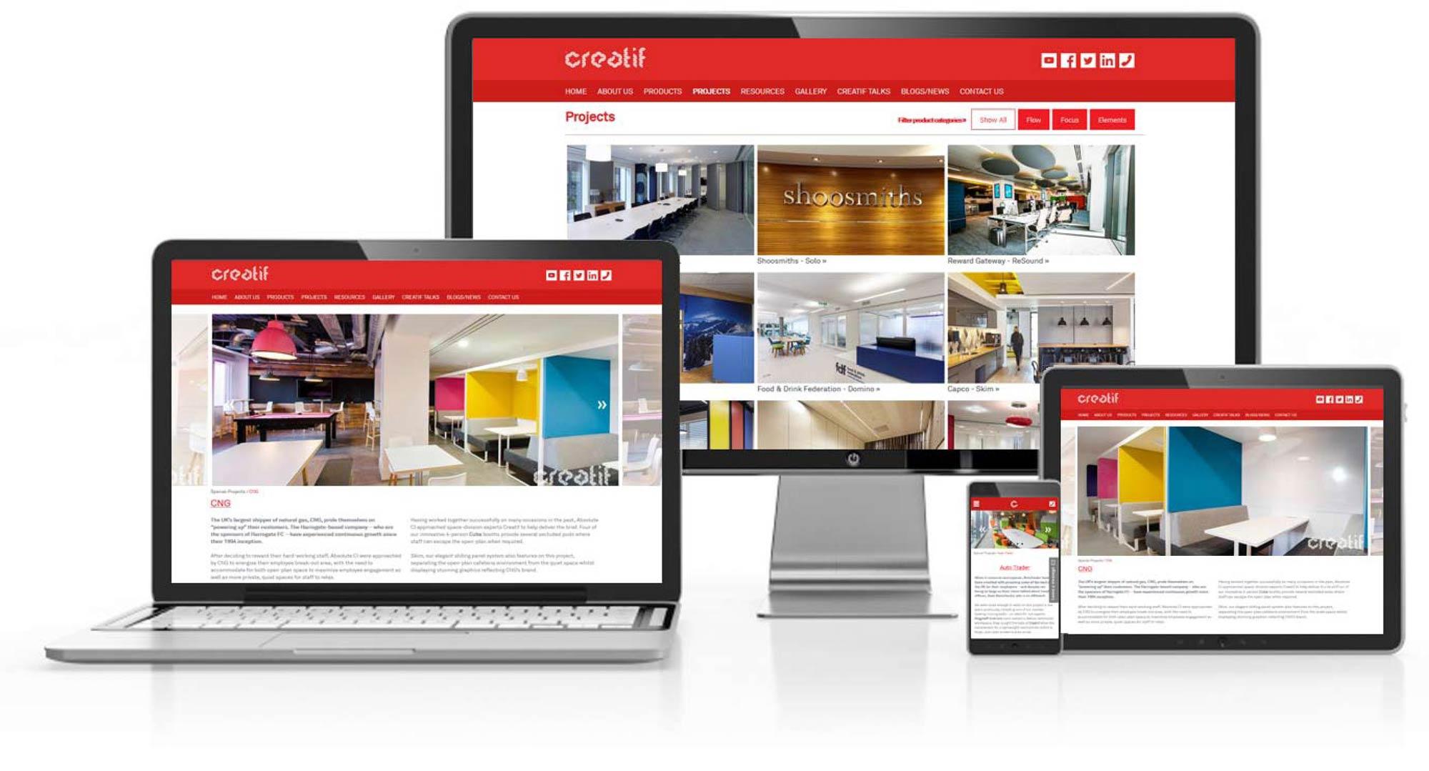Creatif Website